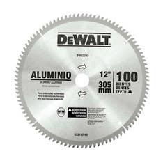 Disco de serra para alumínio/madeira 12 pol 100 dentes DW03240 Dewalt