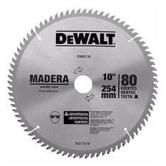 Disco de serra esquadria 10 pol 80 dentes DWA03130 Dewalt