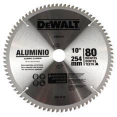 Disco de serra esquadria 10 pol 80 dentes DWA03210 Dewalt