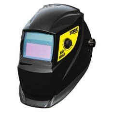 Máscara de Solda Escurecimento Automático Kab Solar MSEA 901 + Lente de Proteção Externa Super Tork