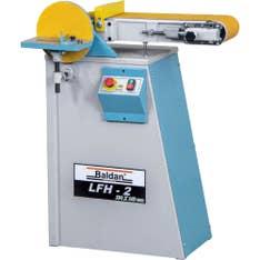Lixadeira de Fita com Mesa Inclinável e Disco Lixador Trifásico LFH-2 Baldan