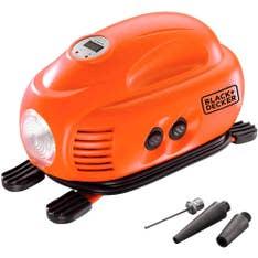Mini-Compressor de Ar com Visor Digital 12v ASI200-LA Black&Decker