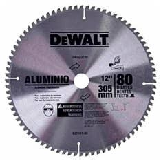 Disco de serra para alumínio 12 pol 80 dentes DWA03230 Dewalt
