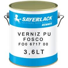 Verniz PU Fosco FO0 6717 00 (FC-6975=50%) 3,6lt SayerLack