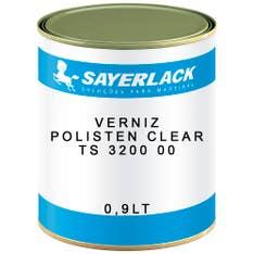 Verniz Polisten Clear TS 3200 00 Transparente 0,9lt Sayerlack