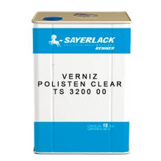 Verniz Polisten Clear TS 3200 00 Transparente 18lt Sayerlack